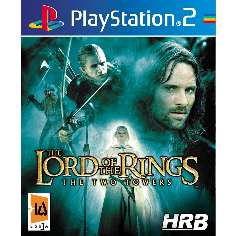 خرید اینترنتی بازی The Lord of the Rings The Two Towers مخصوص PS2 اورجینال