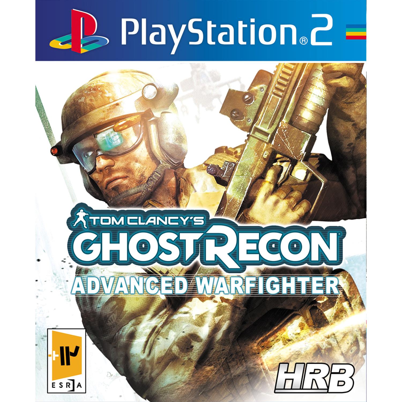 خرید اینترنتی بازی Tom Clancy's Ghost Recon Advanced Warfighter مخصوص PS2 اورجینال