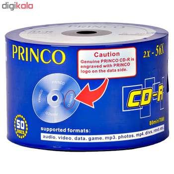 سی دی خام پرینکو مدل CD-R  بسته ۵۰ عددی