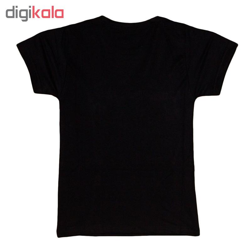 تی شرت پسرانه طرح گرگ کد 21