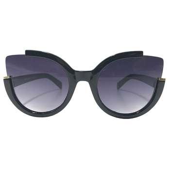 عینک آفتابی زنانه مدل 1-8217 به همراه جا سوییچی چرم طبیعی طرح کفش هدیه