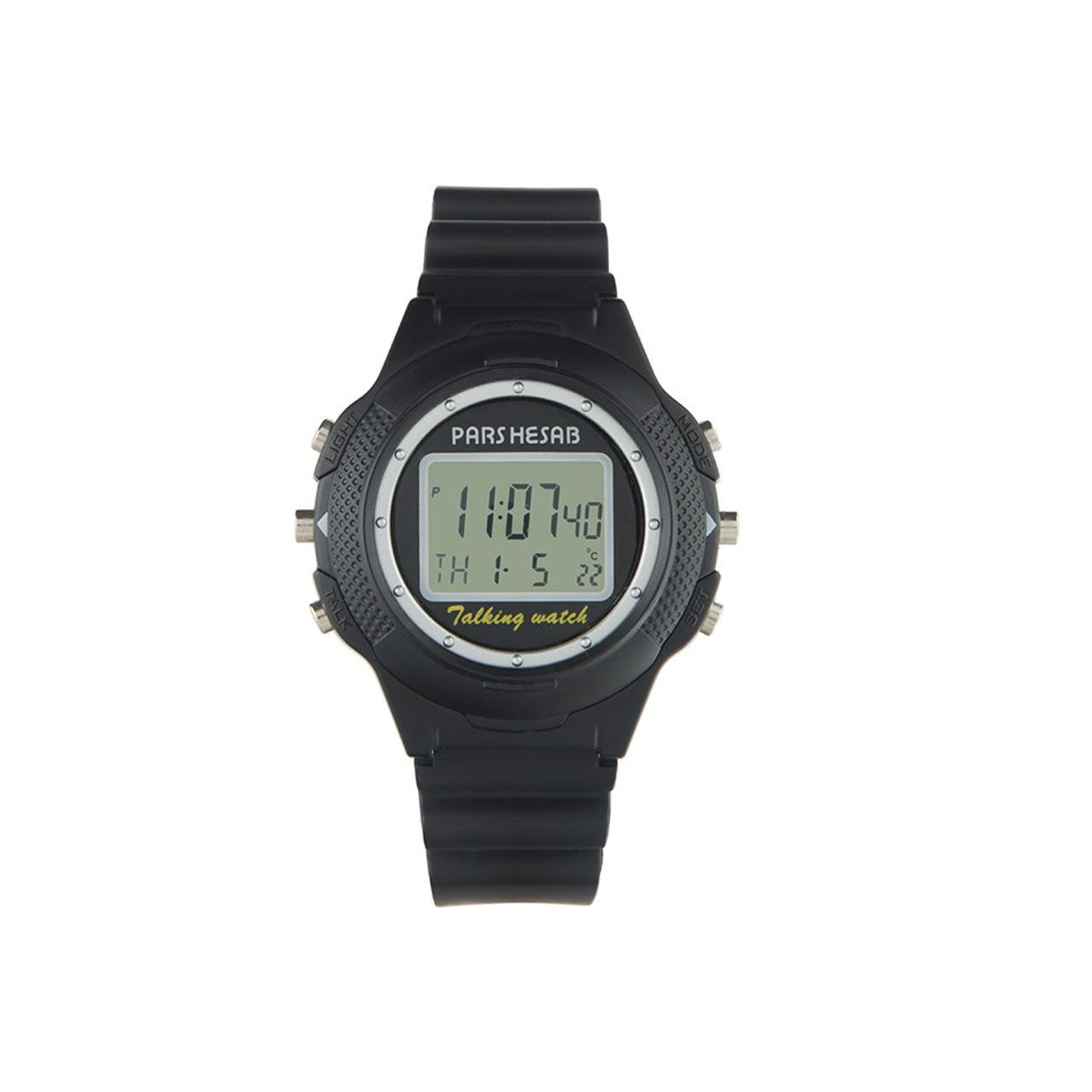 ساعت مچی دیجیتالی ایرانی پارس حساب مدل WW2000