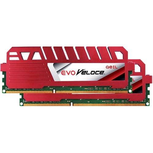 رم دسکتاپ DDR3 دو کاناله 1600 مگاهرتز CL11 گیل مدل Evo Veloce ظرفیت 16 گیگابایت
