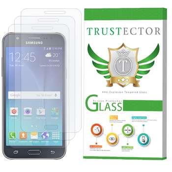 محافظ صفحه نمایش تراستکتور مدل GLS مناسب برای گوشی موبایل سامسونگ Galaxy J7 2015 بسته 3 عددی