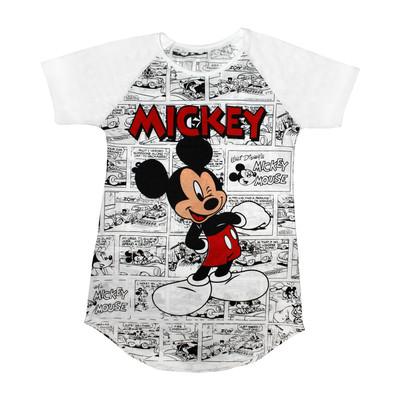 تصویر تی شرت زنانه مدل Micky Comics کد 1083