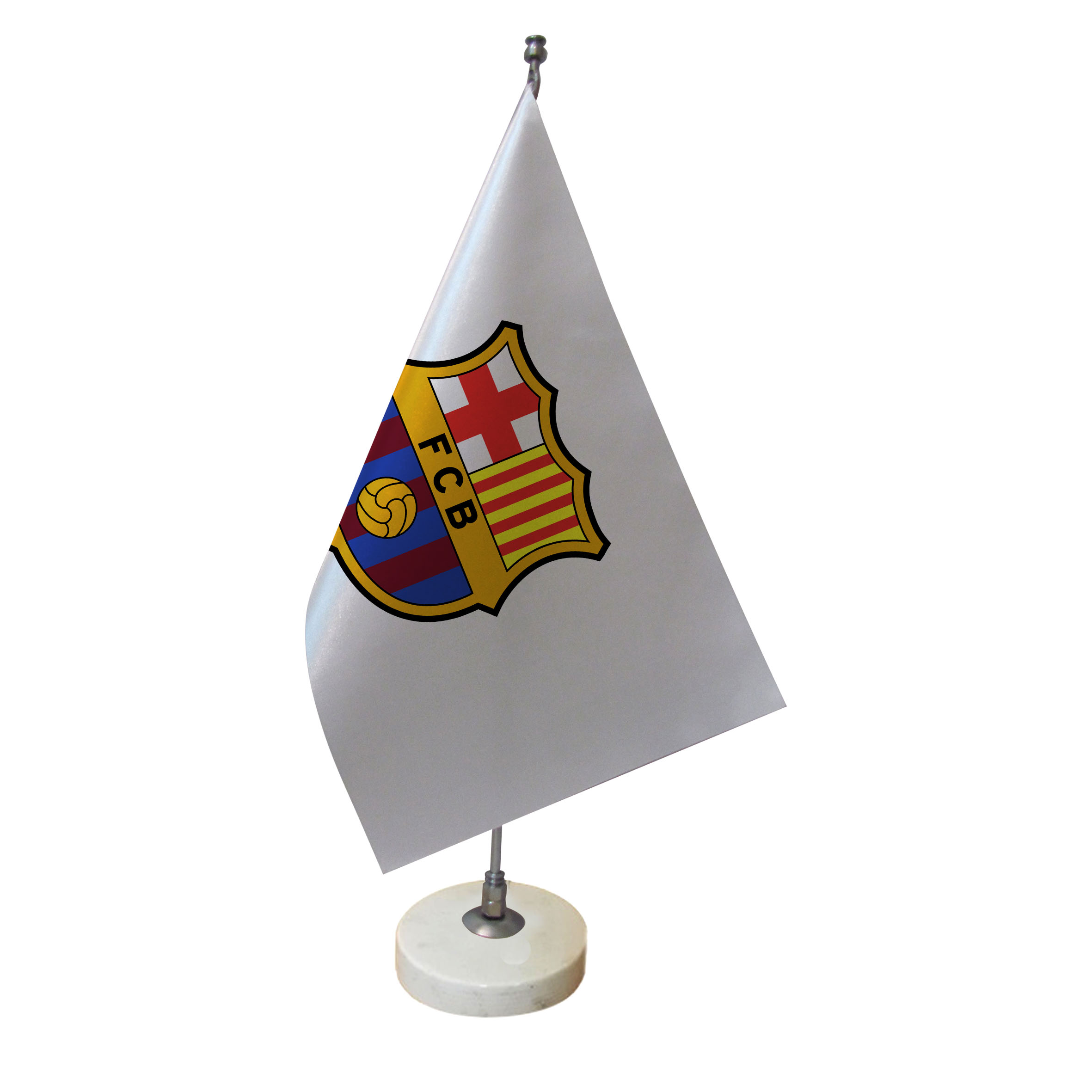 خرید                      پرچم رومیزی طرح تیم فوتبال بارسلونا کد pr23