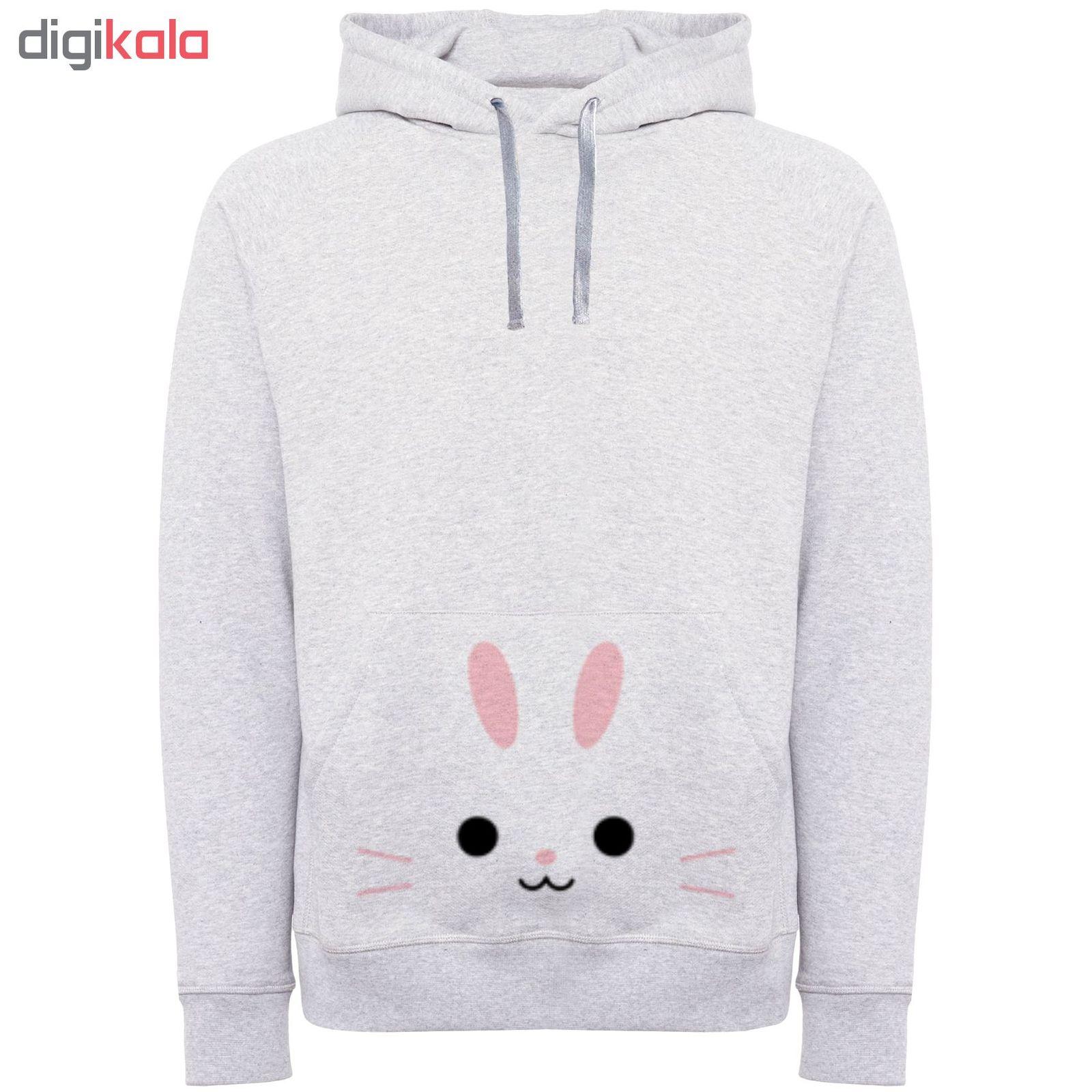 هودی زنانه طرح خرگوش کد F235 main 1 1