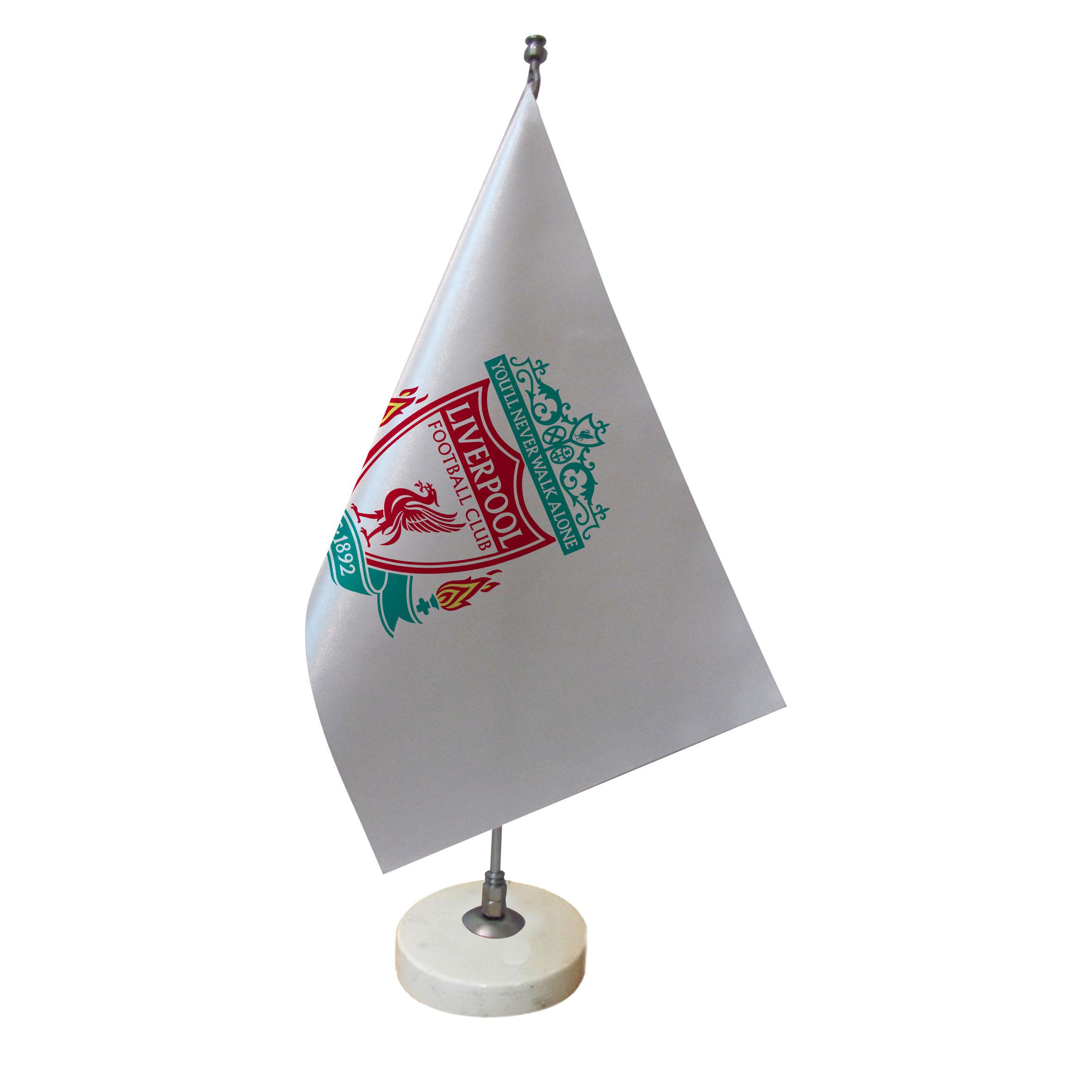 پرچم رومیزی طرح تیم فوتبال لیورپول کد pr28