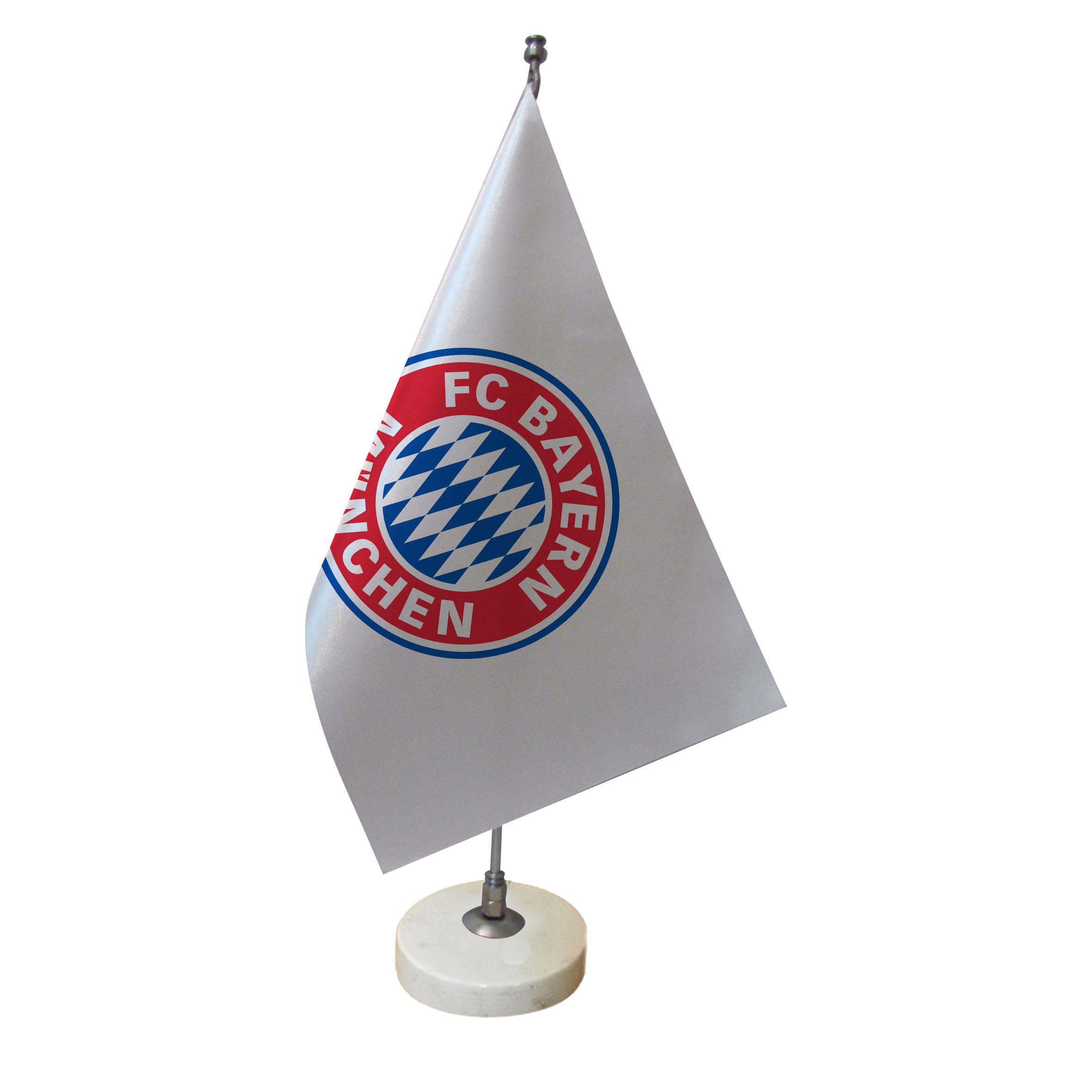 خرید                      پرچم رومیزی طرح  تیم فوتبال بایرن مونیخ کد pr29