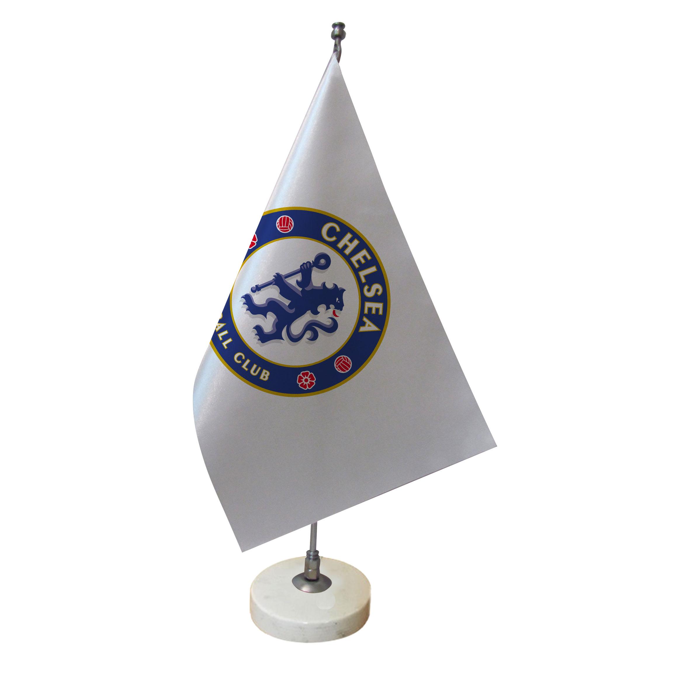 خرید                      پرچم رومیزی طرح  تیم فوتبال چلسی کد pr30