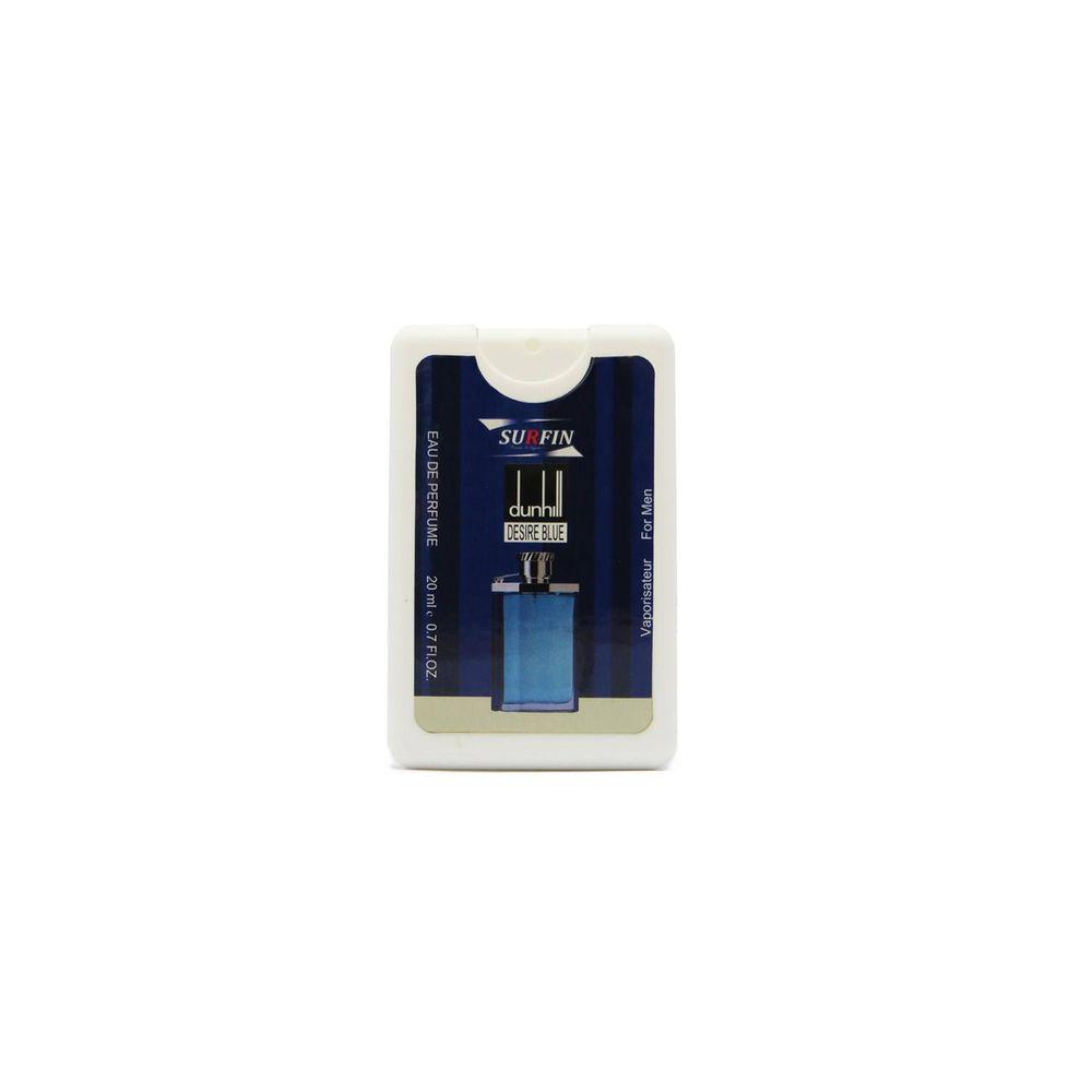 عطر جیبی مردانه سورفین مدل Design Blue حجم 20 میلی لیتر