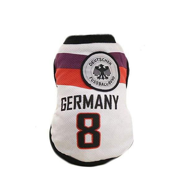 لباس فوتبالی سگ طرح تیم ملی سایز2XL