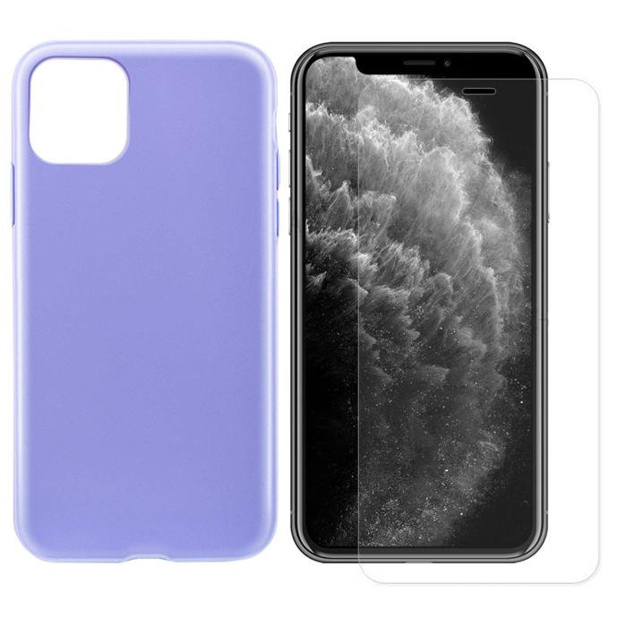 کاور آها استایل مدل HK88 مناسب برای گوشی موبایل اپل iPhone 11 pro به همراه محافظ صفحه نمایش