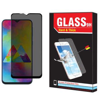 محافظ صفحه نمایش حریم شخصی Hard and Thick مدل f-001 مناسب برای گوشی موبایل سامسونگ Galaxy M20