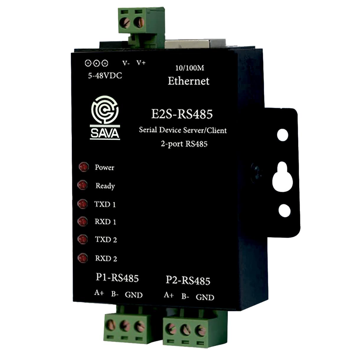 مبدل سریال به اترنت ساوا مدل E2S-RS485