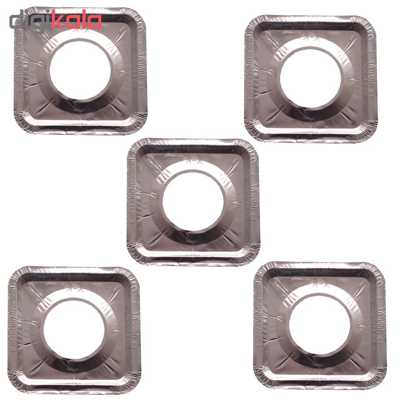فویل آلومینیوم  کد 5PCS مجموعه 5 عددی