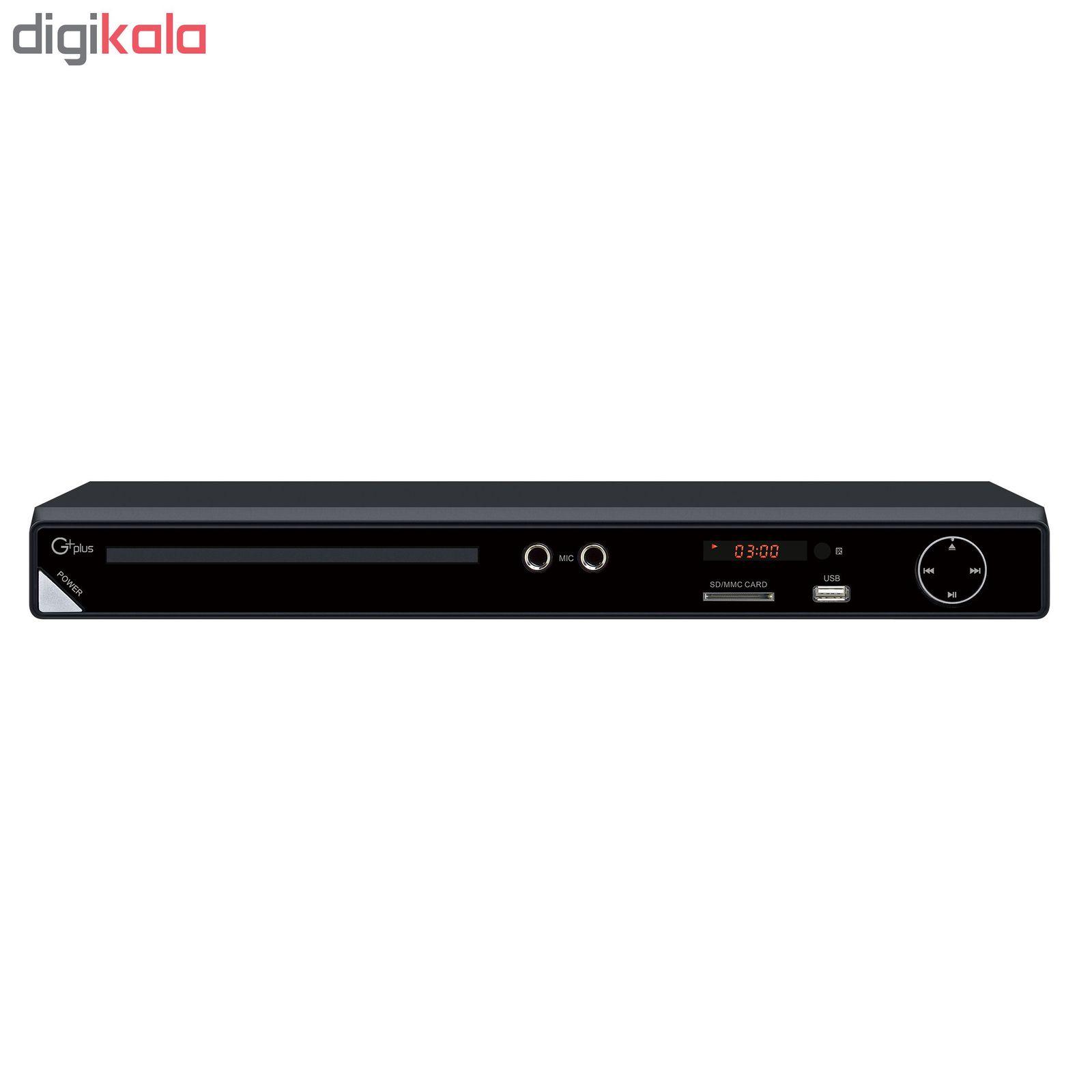 پخش کننده دی وی دی جی پلاس مدل GDV-HJ257N main 1 1