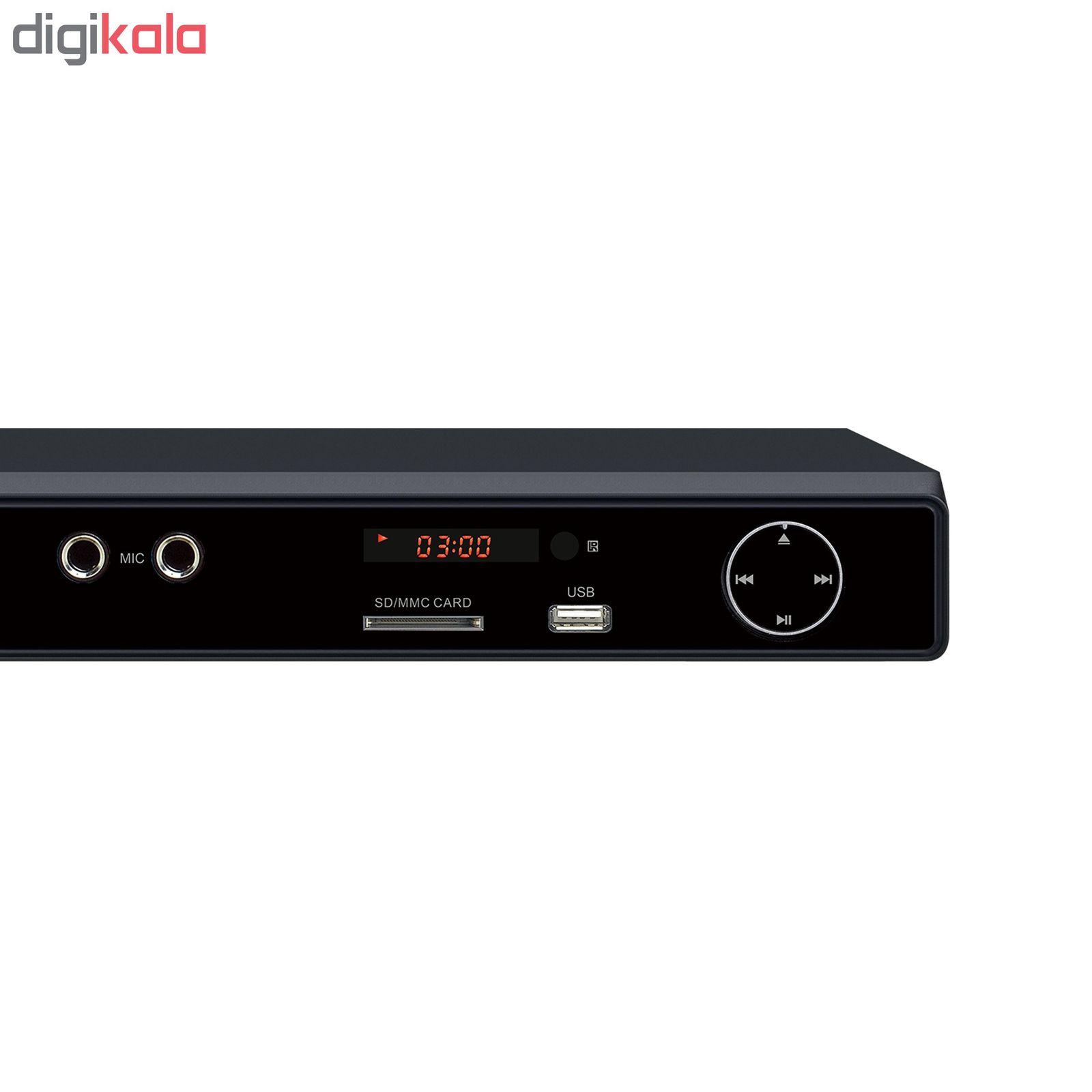 پخش کننده دی وی دی جی پلاس مدل GDV-HJ257N main 1 2