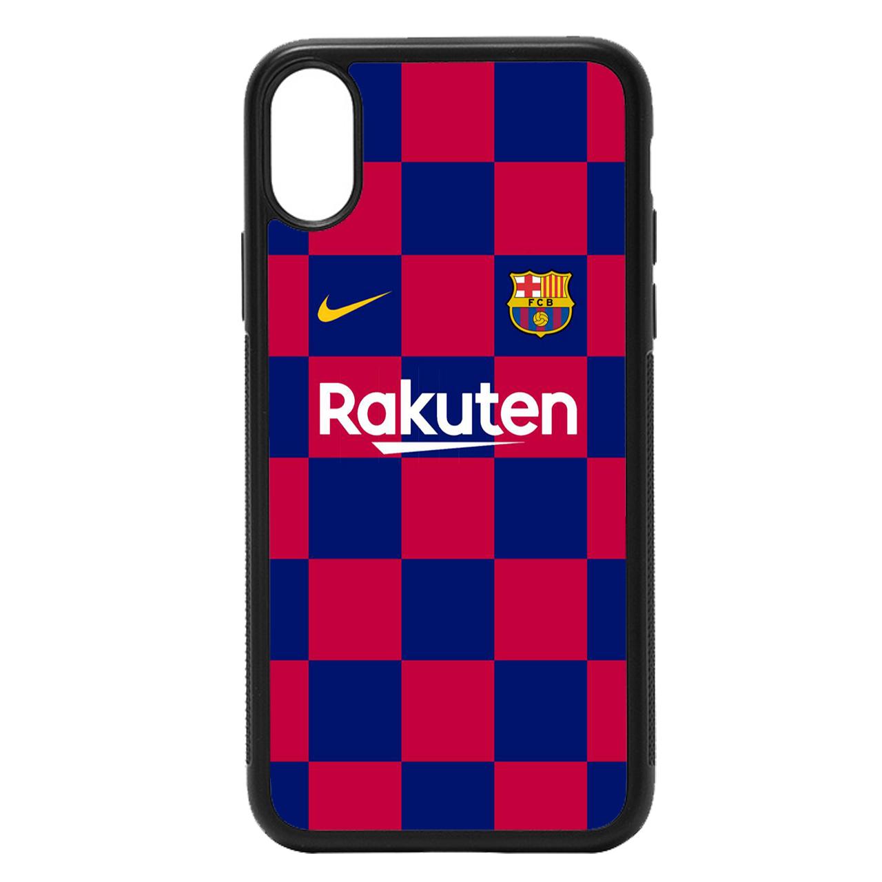 کاور طرح بارسلونا کد 11050611 مناسب برای گوشی موبایل اپل iphone x/xs