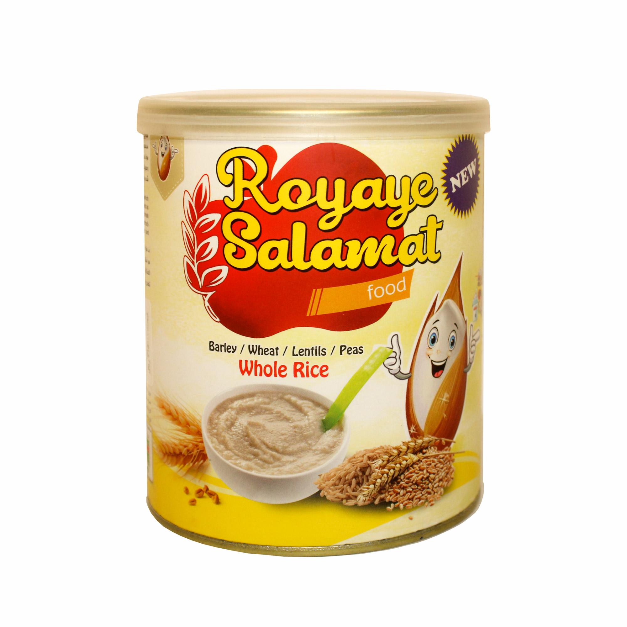 غلات صبحانه با برنج سبوس دار رویای سلامت  - 400 گرم