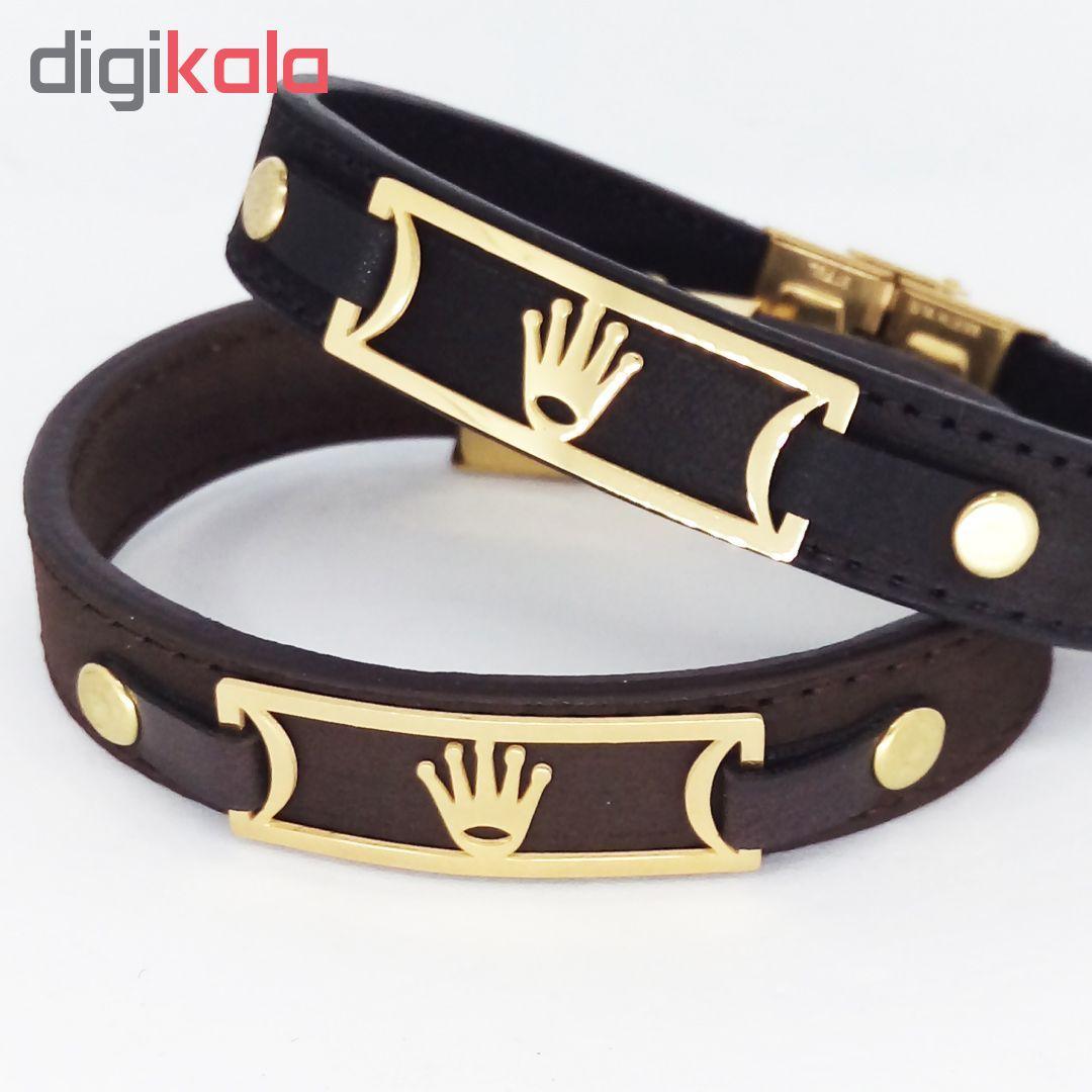 دستبند طرح تاج کد R02 main 1 4