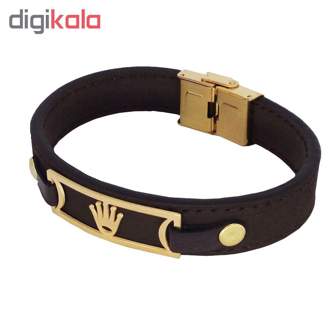 دستبند طرح تاج کد R02 main 1 1