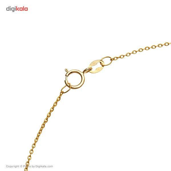 زنجیر طلا 18 عیار ماهک مدل MM0353 - مایا ماهک -  - 1