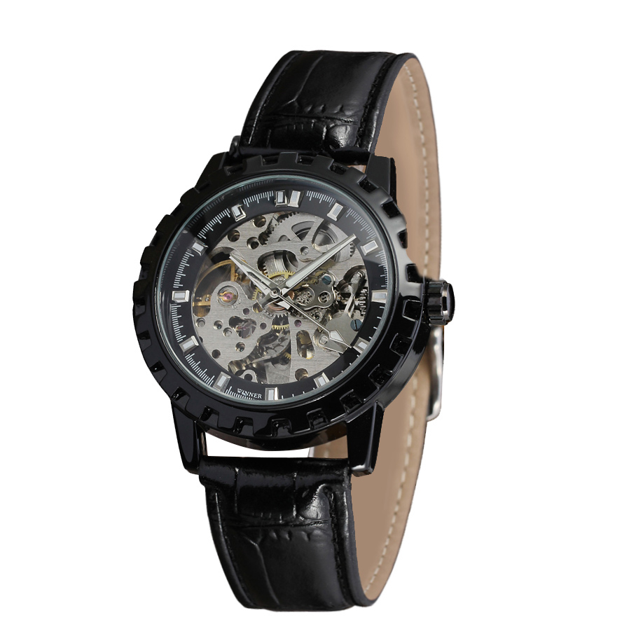 ساعت مچی عقربه ای مردانه وینر مدل WRG8079M3B2