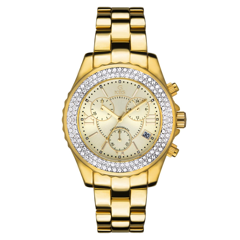 ساعت مچی عقربه ای زنانه جی کی بی اس مدل SN-2406-GG              خرید (⭐️⭐️⭐️)