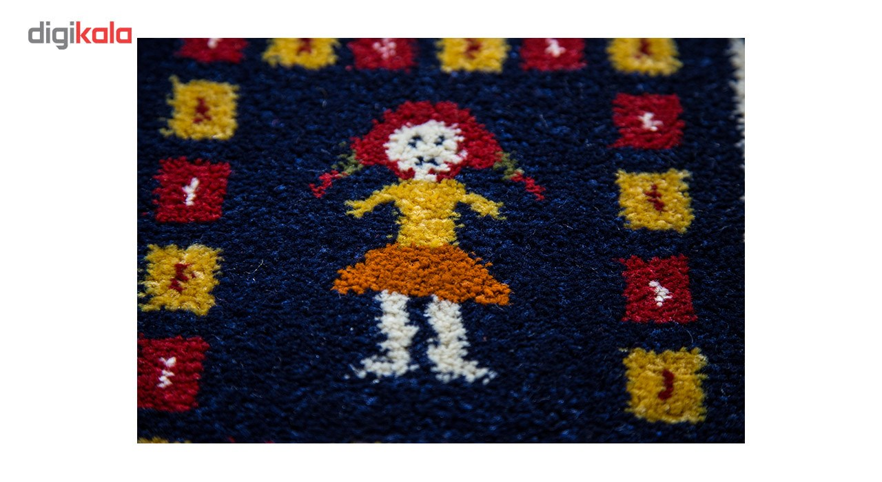 فرش ماشینی ساوین طرح گیتی زمینه کرم