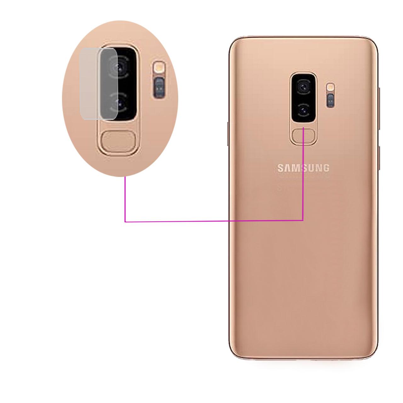 محافظ لنز دوربین مدل LTP مناسب برای گوشی موبایل سامسونگ Galaxy S9 Plus