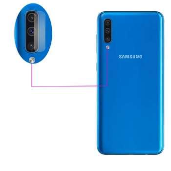 محافظ لنز دوربین مدل LTP مناسب برای گوشی موبایل سامسونگ Galaxy A50