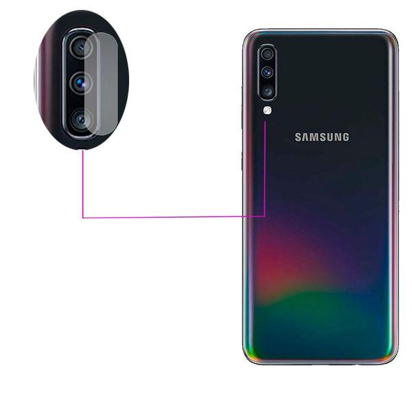 محافظ لنز دوربین مدل LTP مناسب برای گوشی موبایل سامسونگ Galaxy A70