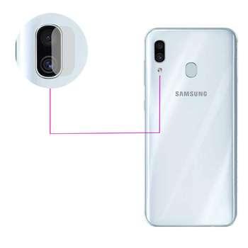 محافظ لنز دوربین مدل LTP مناسب برای گوشی موبایل سامسونگ Galaxy A30