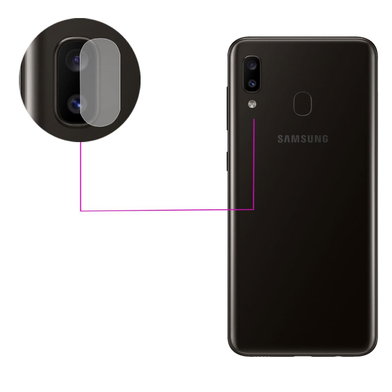 محافظ لنز دوربین مدل LTP مناسب برای گوشی موبایل سامسونگ Galaxy A20              ( قیمت و خرید)