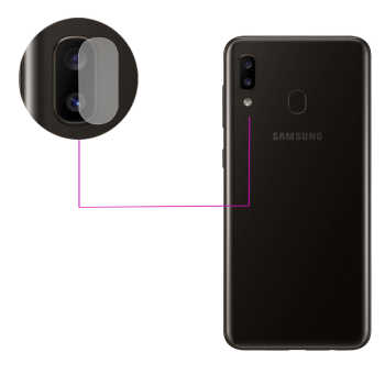 محافظ لنز دوربین مدل LTP مناسب برای گوشی موبایل سامسونگ Galaxy A20