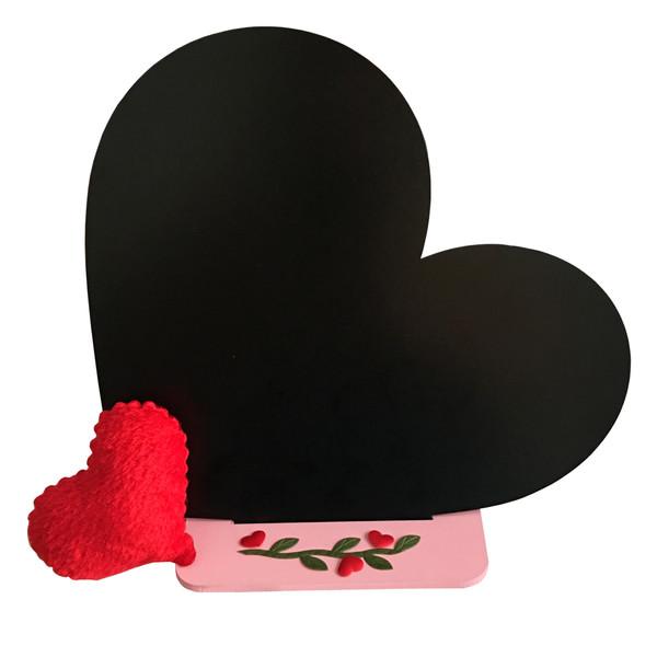 تخته سیاه طرح قلب کد h1 سایز 29*25 سانتی متر