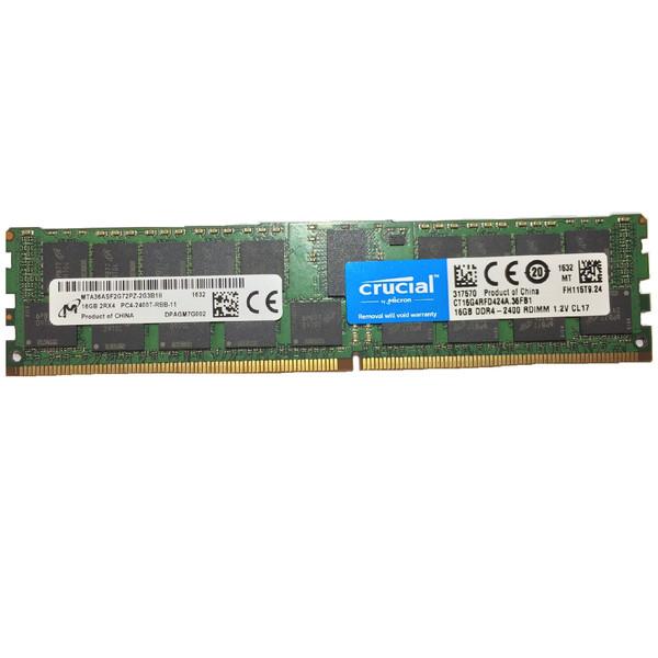 رم سرور DDR4 دو کاناله 2400 مگاهرتز CL17 کروشیال مدل CT16G4RFD424A.36FB1 ظرفیت 16 گیگابایت