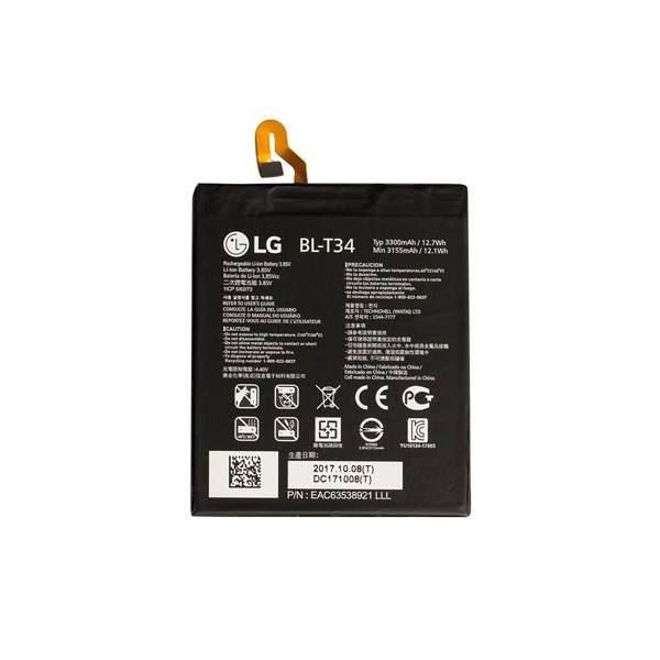 باتری موبایل مدل BL-T34 ظرفیت 3300 میلی آمپر ساعت مناسب برای گوشی موبایل ال جی V30