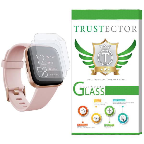 محافظ صفحه نمایش نانو تراستکتور مدل GNF مناسب برای ساعت هوشمند فیت بیت Versa 2 بسته 3 عددی