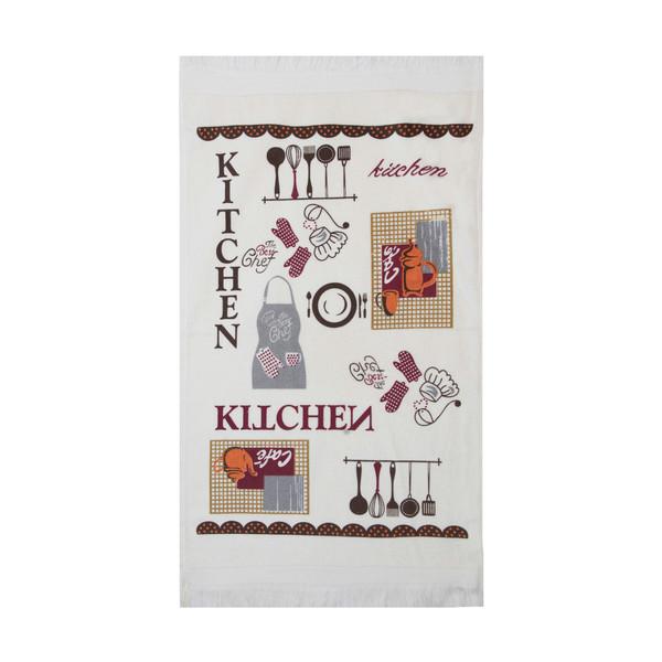 حوله آشپزخانه آکیپک مدل Kitchen سایز 40x60 سانتیمتر