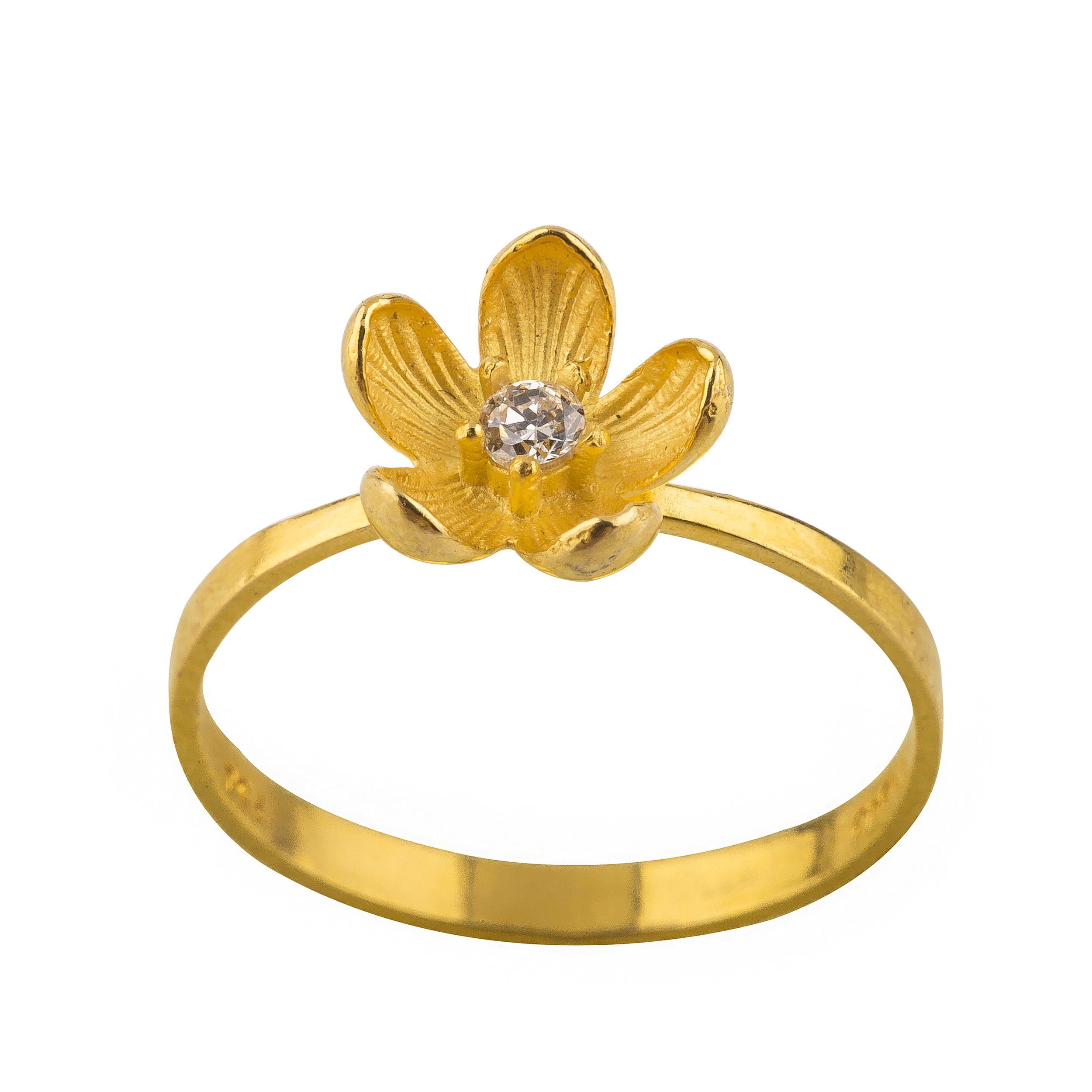 خرید انگشتر طلا 18 عیار زنانه