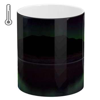 ماگ حرارتی آبنبات رنگی طرح کوه کد ARM0700