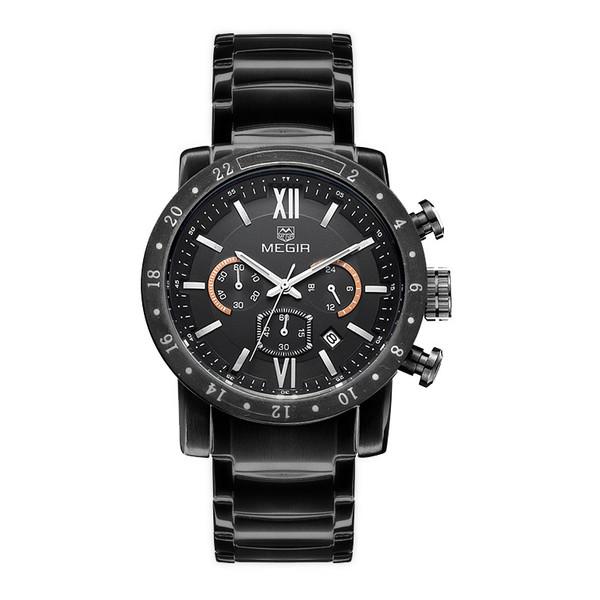 ساعت مچی عقربه ای مردانه مگیر مدل MS3008GBK-1