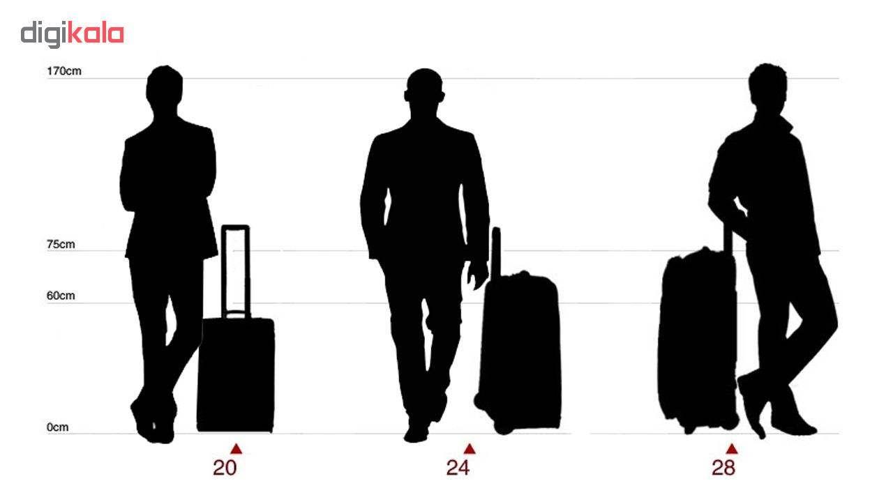 مجموعه دو عددی چمدان مدل T52