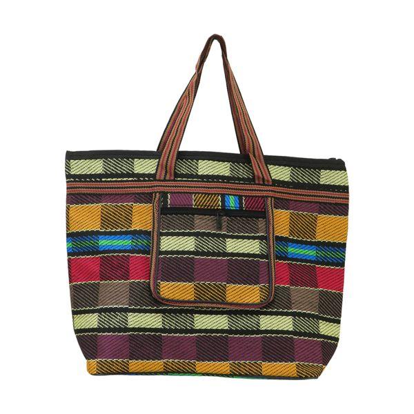کیف دستی زنانه طرح جاجیم کد 001