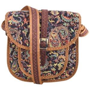 کیف دوشی ترمه حسینی طرح تک جیب کهن مدل n-27-03