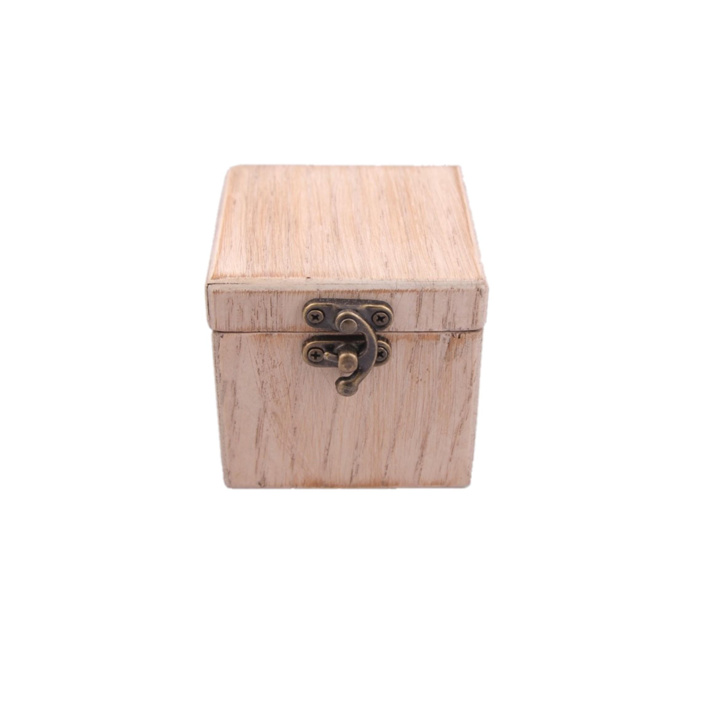 جعبه هدیه چوبی مدل 1