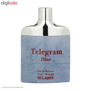 ادو پرفیوم مردانه اسکلاره مدل Telegram Blue حجم 82 میلی لیتر  Sclaree Telegram Blue Eau De Parfum