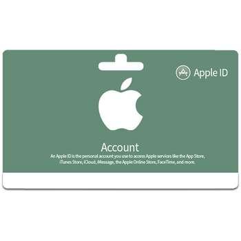 اپل آیدی بدون اعتبار اولیه مدل A8 بسته 100 عددی